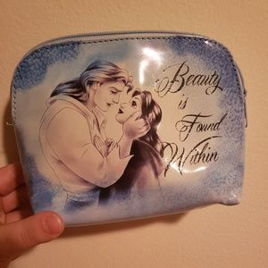 Beauty & the beast pouch